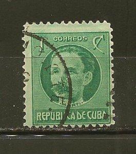 Cuba 264 Jose Marti Used