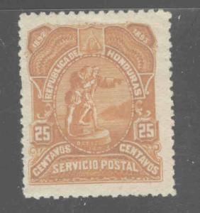 Honduras  Scott 70 MH* airmail stamp