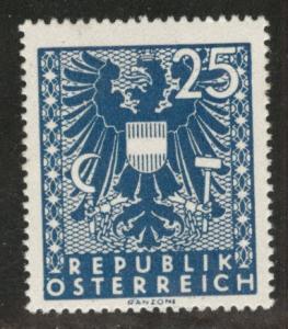 Austria Scott 443 MH* stamp from 1945 set