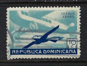 DOMINICAN REPUBLIC C20 VFU AIRPLANE 621G-7