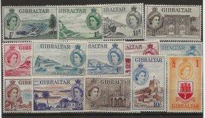 Gibraltar 132-145 Set. MH