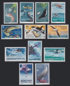 Australian Ant. Terr. Antarctic Birds and Fauna 12v SG#23-34 MI#23-34 SC#L23-L34