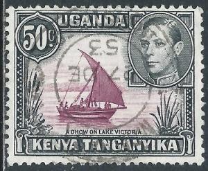 Kenya, Uganda & Tanganyika, Sc #79, 50c Used