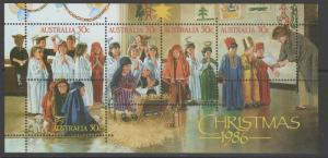 AUSTRALIA SGMS1043 1986 CHRISTMAS MNH