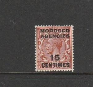 Morocco Agencies French 1917/24 15c on 1 1/2d LMM SG 194