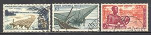 French Equatorial Africa Sc # C39-C41 used (RS)