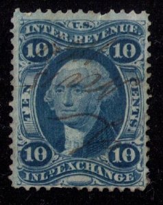 US Sc #R36 Used Very Fine Centering Silk Cat.$85.00