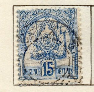 Tunis 1888 Early Issue Fine Used 15c. NW-114582