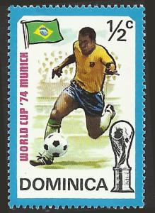 DOMINICA - 395 - Unused - SCV-0.25