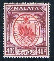 Malaya Negri Sembilan 54 MLH Arms 1949 (MV0071)