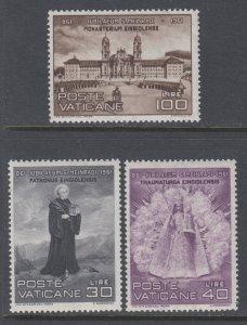 Vatican City 298-300 MNH VF