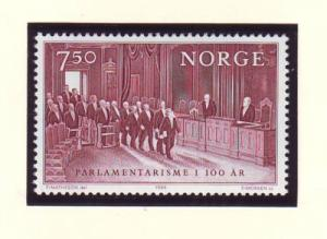 Norway Sc 854 1984 Parliament stamp mint NH