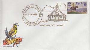 1989 Centennial Reunion Ringling Montana Pictorial