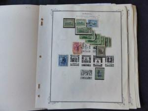 Jamaica 1912-1951 Mint/Used Stamp Collection Many Vars on Scott Spec Album Pgs