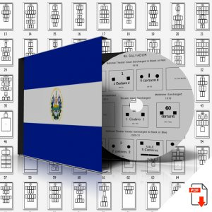 EL SALVADOR STAMP ALBUM PAGES 1867-2011 (312 PDF digital pages)