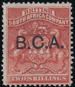 British Central Africa 1891-1895 SC 8 MLH