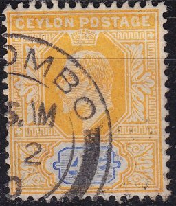 CEYLON SRI LANKA [1904] MiNr 0146 ( O/used )
