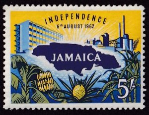 Jamaica #184 Mint