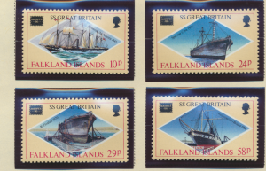 Falkland Islands Stamps Scott #446 To 449, Mint Never Hinged - Free U.S. Ship...