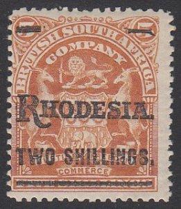 Rhodesia 93 MH CV $17.00