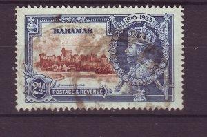J24096 JLstamps 1935 bahamas used #93 jubilee