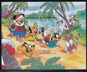 Disney Antigua - Christmas MNH Sheet #987 (1986)