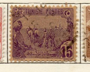 Tunis 1906 Early Issue Fine Used 15c. NW-114594