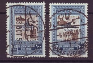 J16804 JLstamps 1953 jordan used #304 wide and narrow space ovpt