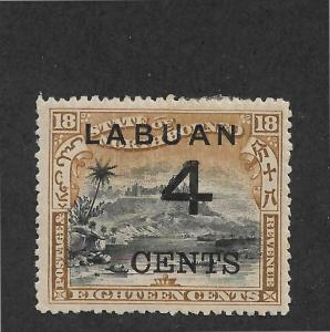 Labuan Scott # 91 VF-OG with nice color scv $ 40 ! see pic !