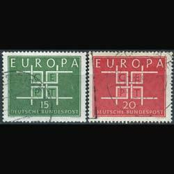 GERMANY 1963 - Scott# 867-8 Europa Set of 2 Used