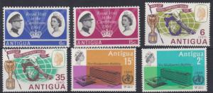 ANTIGUA  1966   3  SETS OF COMMEMS  MNH & MH