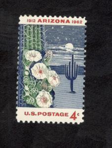 1192 Arizona Statehood US Postage Single Mint/nh (Free Shipping)