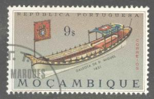 Mozambique Scott 463 Used CTO ship stamp