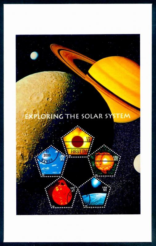 Exploring the Solar System #3410 FDC & Program