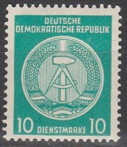 DDR #O38  MNH   (S2072)