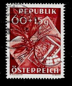 Austria # B268, Used. CV $ 2.75