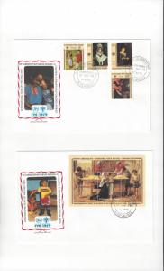 St. Kitts & Nevis FDC International Year of the Child 1979 Official Cachet