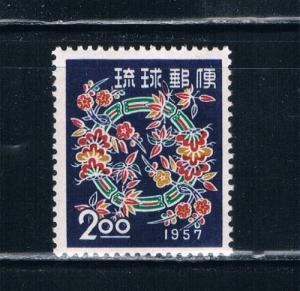 Ryukyu Islands 40 VLH Christmas (R0045)+