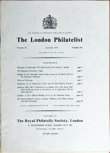 JAMAICA 1860-1962 Comments on a Display from the ROYAL PHILATELIC COLLECTION