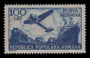 Romania Scott #C34 OG MNH eGraded With Certificate Superb 97