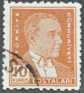 DYNAMITE Stamps: Turkey Scott #1026 - USED