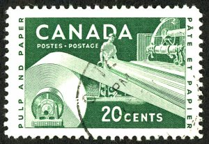 Canada #362 Used