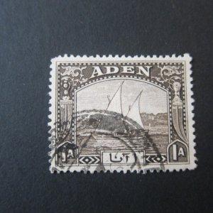 Aden 1937 Sc 3 FU