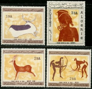 ALGERIA Sc#365-368 1967 Wall Paintings Complete Set Mint NH