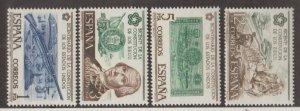 Spain Scott #1947-1950 Stamps - Mint NH Set