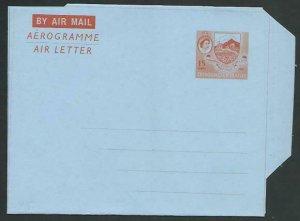 TRINIDAD QE 15c aerogramme / air letter fine unused........................58351