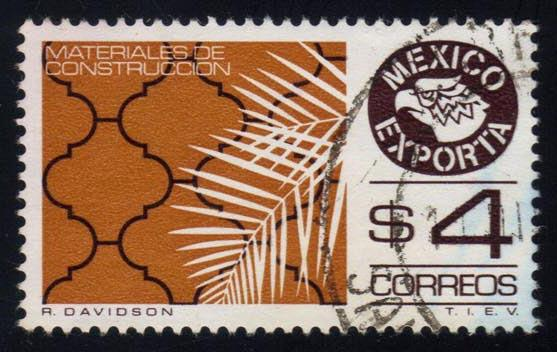 Mexico #1119 Tiles, used (0.25)
