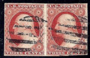 U.S. 10 Used FVF+ PAIR (10317)