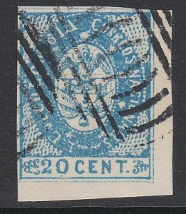 COLOMBIA  An old forgery of a classic stamp.................................D724