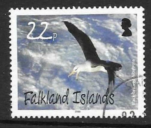 FALKLAND ISLANDS SG1140 2009 22p ALBATROSSES  FINE USED